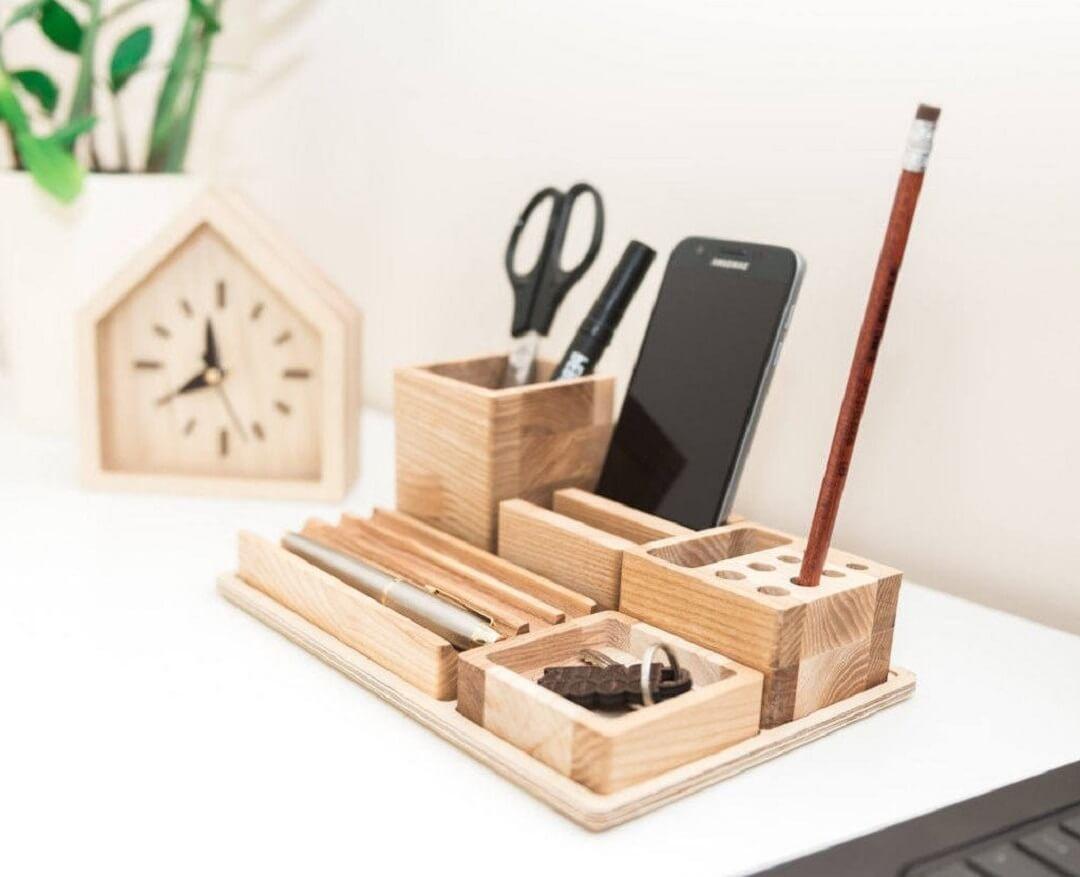 Hộp phụ kiện bằng gỗ