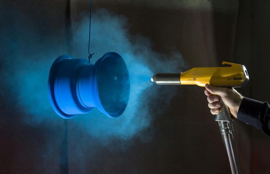 Ứng dụng công nghệ sơn tĩnh điện trong sản xuất nội thất văn phòng