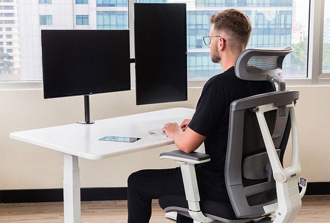 3 kiểu bàn làm việc kiểu mới cho không gian làm việc bắt mắt