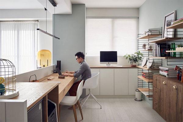Thiết kế bàn làm việc tại nhà khiến bạn hứng thú làm việc