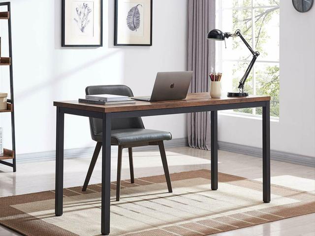 Bàn mặt gỗ chân sắt – thiết kế tiện dụng chinh phục dân văn phòng