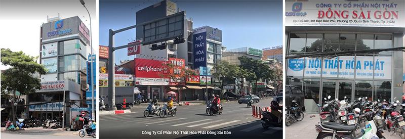 Nơi mưa bàn chân sắt Hồ Chí Minh quận Bình Thạnh